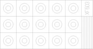 MASK,CIRCLE12 + 6MM EXMAS