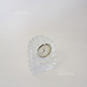 Orologio Da Tavolo In Cristallo