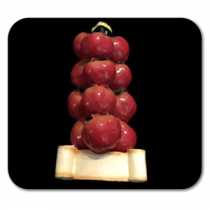 Calamita pomodori in resina da collezione