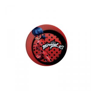 Piatto Ladybug miraculous 23 cm