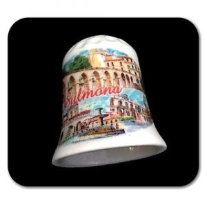Ditale in ceramica souvenir Sulmona