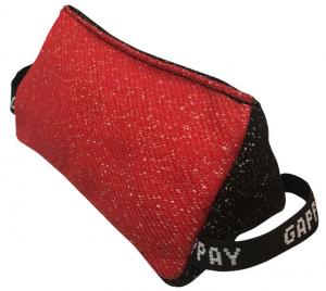 Cuscino Gappay triangolare in tela francese