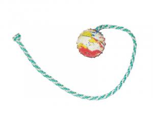 Pallina con corda Gappay in gomma  varie misure