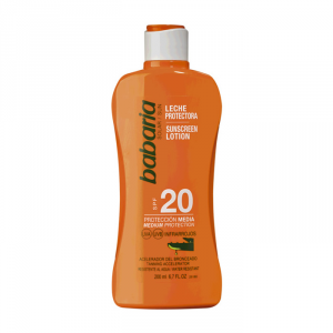 Babaria Sunscreen Lotion With Aloe Vera Spf20 200ml