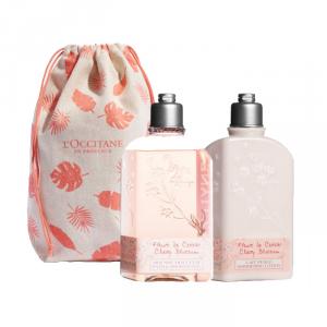 L'Occitane Fleur De Cerisier Shimmer Lotion 250ml Set 2 Parti 2019