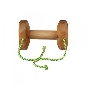 Riporto in legno Gappay 1kg con corda per allenamento