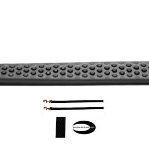 Guinzaglio gappay gommata nero 2m