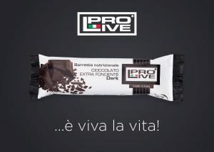 Barretta Nutrizionale al Cioccolato Fondente