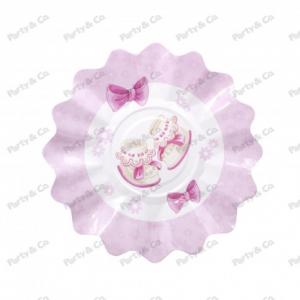 Piatti Baby Rosa 27 cm