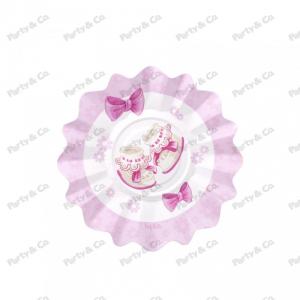 Piatti Baby Rosa 21 cm