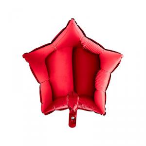 Palloncino mylar stella rossa