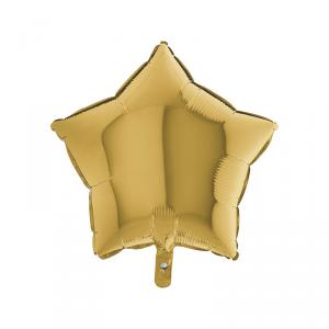 Palloncino mylar stella oro