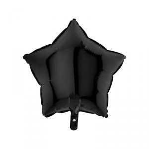 Palloncino mylar stella nera
