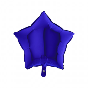 Palloncino mylar stella blu