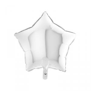 Palloncino mylar stella bianco