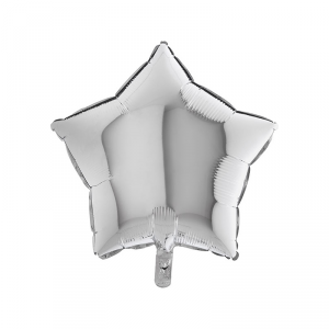 Palloncino mylar stella argento