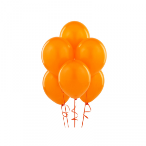 Palloncini in lattice arancio