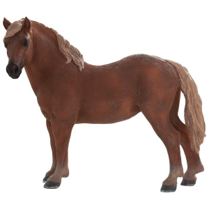 Statuina Animal Planet Cavallo Giumenta Suffolk Punch