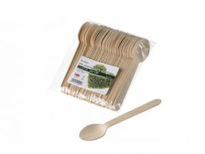 Cucchiaini in legno di betulla naturale