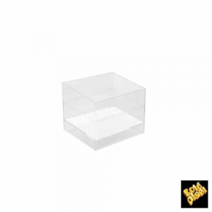 Coppetta Cube Trasparente