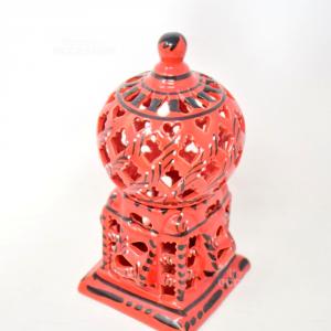 Lampada Etnica In Ceramica ( A