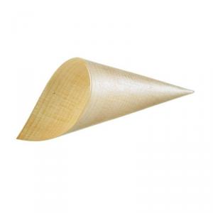 Cono in legno ø 5.5 x 15.5