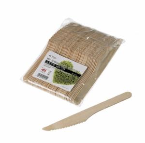 Coltelli in legno di betulla naturale