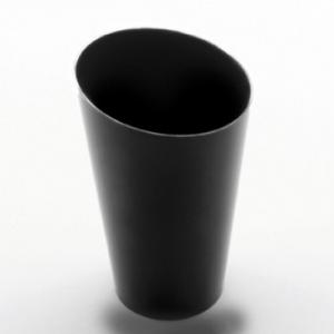 Bicchierino Conico Alto Nero
