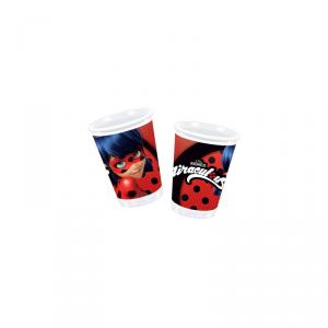 Bicchieri Ladybug miraculous 200 ml