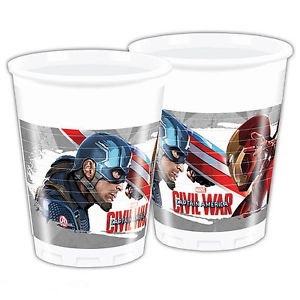 Bicchieri Capitan America