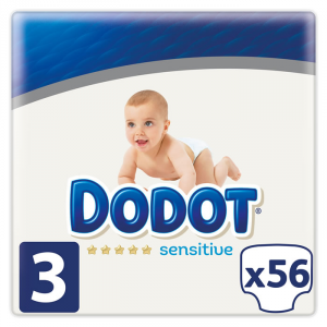 Dodot Sensitive T-3 56 Unità