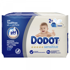 Dodot Sensitive Wipes 108 Unità