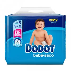 Dodot Bebé Seco T-5 80 Unità