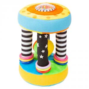 Peluche Tattile in stoffa da rotolare gioco motricità bambini