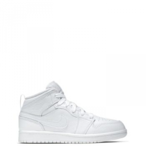 Nike Jordan 1 Mid (PS) White