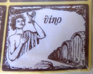 Etichette adesive per bottiglie vino conf.100pz
