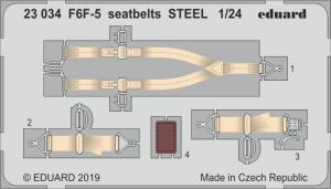 F6F-5 SEATBELTS STEEL