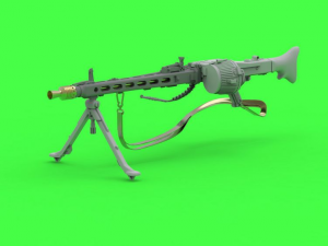 MG-42 German Machine Gun