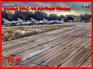 SOVIET PAG-14 AIRFIELD PLATES