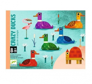DJECO GIOCO DI CARTE - CRAZY DUCKS DJ05181