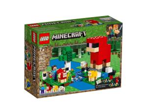 LEGO MINECRAFT FATTORIA DELLA LANA 21153