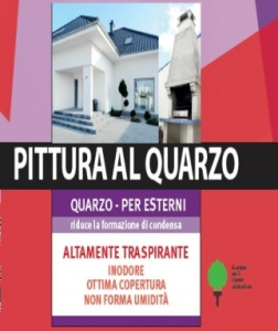 LAVABILE  AL QUARZO X ESTERNI - LT. 10