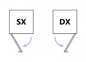 Collezione 'Compos' - Modulo credenzina con 2 ante