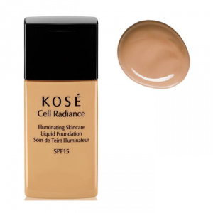 Kosé Cell Radiance Liquid Foundation Spf15 202 Medium Beige 30ml