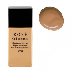 Kosé Cell Radiance Liquid Foundation Spf15 203 Deep Beige 30ml