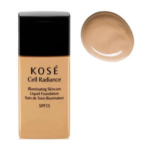 Kosé Cell Radiance Liquid Foundation Spf15 201 Natural Beige 30ml