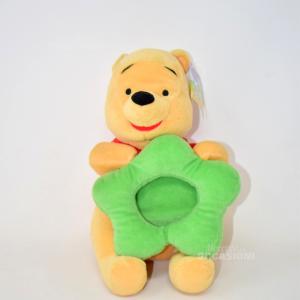 Pupazzo Whinnie The Pooh Con Porta Foto S