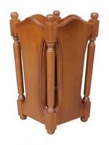 Portaombrelli in legno stile classico