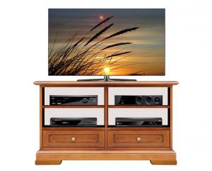 Porta tv solo vani basso in stile classico
