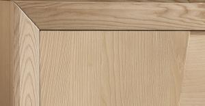 Madia 4 ante in legno naturale